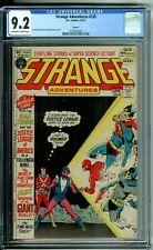 STRANGE ADVENTURES 235 CGC 9.2 CIRCLE 8 PEDIGREE 1972 JUSTICE LEAGUE X-over