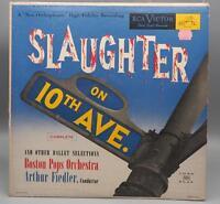 Vintage Slaughter On 10th Avenue Ballet Arthur Fiedler Record Album Vinyl LP