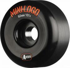 Powell / Mini Logo - 'A' Cut Skateboard Wheels - 60mm 101a - Black