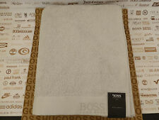 HUGO BOSS Bath Towel Sumptuous Large Soft White Cotton 90x16ocm Sheet BNWT RP£50