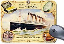 TITANIC Vinolia Soap RMS Mouse Mat. High Quality Travel Ship Mouse Pad