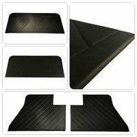KAWI Türverkleidung Türpappen Seitenberkleidung 4-tei schwarz für Golf 1 Cabrio