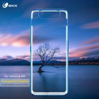 For Samsung Galaxy A80,GKK Luxury Transparent Plating Protective Case Back Cover