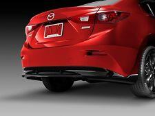 2014 2015 2016 Mazda 3 4dr rear diffuser oem new !!!