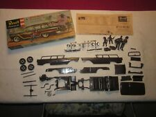 Revell 1957 Ford Country Squire Station Wagon Model Kit Partially Assembled Rare