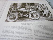 Motorrad Archiv Alltag 5122 Teinehmer ADAC Länderfahrt 1928 in Wien