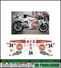 kit adesivi stickers compatibili rgv 250 gamma 91 - 95 team L Strike 500 schwanz