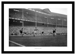 Everton FC Goodison Park 1953 Photo Memorabilia