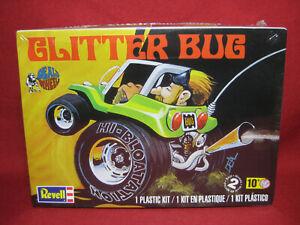Dave Deal's Wheels Glitter Bug Custom VW Beetle Revell Model Kit 1740 Volkswagen