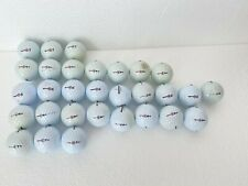 Mix Lot of 30 Bridgestone White Golf Balls - e5/e5+/e6/e6+/e7+ - Total 30 Balls