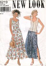 New Look Misses' Dress,Top,Skirt Pattern 6219 Size 8-18 UNCUT