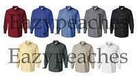 VAN HEUSEN Mens Size S-XL 2XL 3XL Silky Poplin Blend OXFORD Dress Casual Shirts