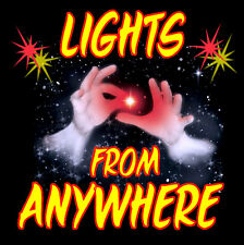 LIGHTS FROM ANYWHERE - SET OF 2 RED LED Devices - STOCK SELLOUT SAVE $$$