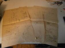 Lot plans machine percer  an 1900 perceuse sur colmonne poulie