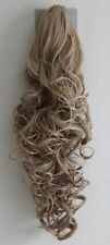 Womens Strawberry Blonde Clip in HAIR PIECE Ponytails Extension 27/613#