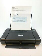 Canon PIXMA iP110 Portable Travel Printer NO AC ADAPTER