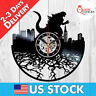 Godzilla Resurgence Vinyl LP Record Wall Clock Collection 2014 1954 Kids Decor