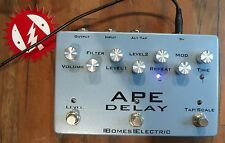 Bomes Electric Ape Delay Space Echo Analog Tape Delay Guitar Effects Pedal