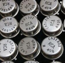 4 x CA3130T operational amplifier, op amp.