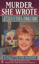 A Palette for Murder by Donald Bain/Jessica Fletcher (Murder She Wrote 6) DD2379