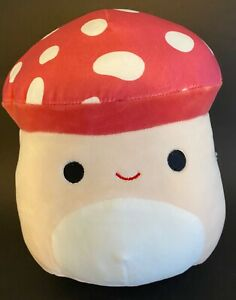 "BNWT 8"" Malcolm The Mushroom Squishmallow! *FAST SHIPPING* HTF"