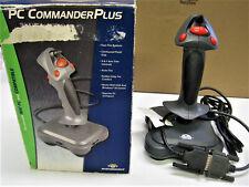 Vintage PC Commander Plus Flight Simulator Video Game Joystick Controller NIB