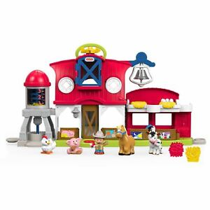 Little People Caring For Animals Farm Playset with Farmer Jed Figure