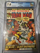 Iron Man 55 CGC 7.0 Thanos and Drax 1st  Appearance