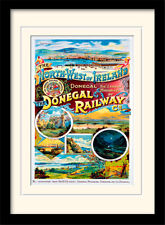 Donegal Railway  Framed & Mounted Print