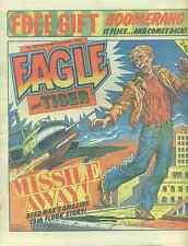 EAGLE & TIGER #205 British comic book February 22, 1986 Dan Dare (no boomerang)