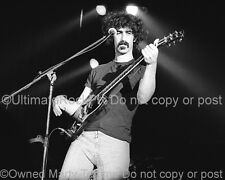 FRANK ZAPPA PHOTO 1973 Black and White Concert Photo by Marty Temme SG Special B