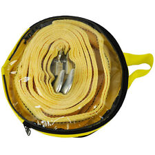 4.5M Tow Towing Pull Rope Strap Heavy Duty Road 5 Tonne 5T Car Van 4x4 Recovery,