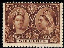 Canada Stamp #55 - Queen Victoria Jubilee (1897) 6¢  MNH DG