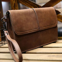 Designer Mens Leather Coffee Wrist Bag New Handbag Briefcase Mutifunction Wallet