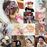 Baby Toddler Girls Kids Bunny Bow Knot Turban Headband Hair Band Headwrap Lot