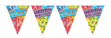 HAPPY BIRTHDAY 6M FLAG BUNTING PARTY BANNER