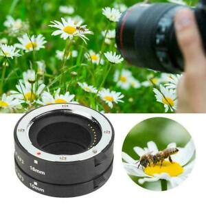 Meike F-AF3A Metal Macro Extension Tube Auto Focus Adapter for Fujifilm X-mount