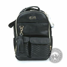 USED Itzy Ritzy DBB8368 Kids Diaper Bag Backpack in Black / Gold Hardware