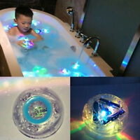 Kids Baby Bathroom LED Light Color Changing Toys Waterproof In Tub Bath Toy Cute