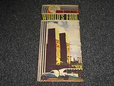 1934 Chicago Worlds Fair  Pamphlet by Greyhound