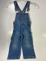 Arizona Jean Company Girls Bib Overalls Youth Size 5T Denim Country