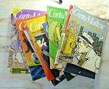 fumetti lotto CORTO MALTESE CREPAX PRATT ANDREA PAZIENZA 12 NUMERI 1982-5