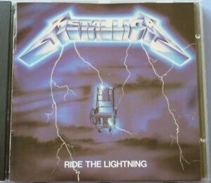 Ride the Lightning by Metallica (CD, Jul-1987, Elektra (Label))
