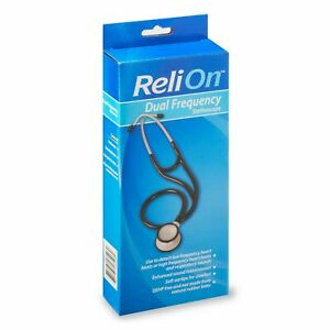 RELION DUAL FREQUENCY STETHOSCOPE LATEX FREE