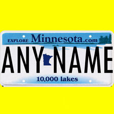1/43-1/5 scale custom license plate set any brand RC/model car - Minnesota tags