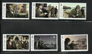 Alderney Sc 356-61 2009 Sherlock Holmes stamp set mint NH
