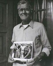 Guilio BORSARI Moss MASERATI Mechanic Maranello 1991 Jesse Alexander Photo Print