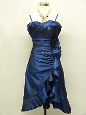 Cherlone Blue Prom Ball Evening Bridesmaid Wedding Formal Gown Dress Size 16-18