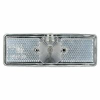 Front Position Marker Light Lamp White Clear for Trailer Caravan Van