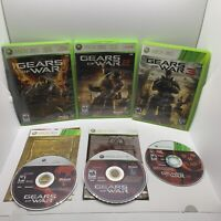 Gears of War Lot 1, 2, 3 - Xbox 360 Game Bundle GoW Trilogy Games
